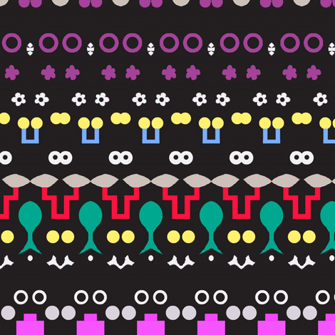 Grotesque Eyelet fabric by boris_thumbkin on Spoonflower - custom fabric