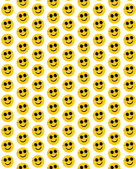 smiley3 fabric by sewbiznes on Spoonflower - custom fabric