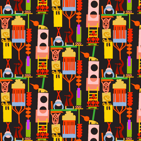 Playground fabric by boris_thumbkin on Spoonflower - custom fabric