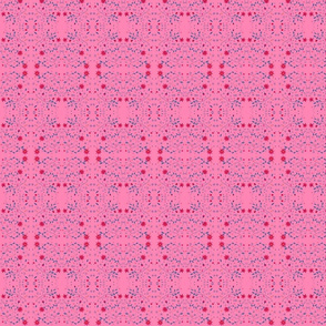 pink garden tiny design