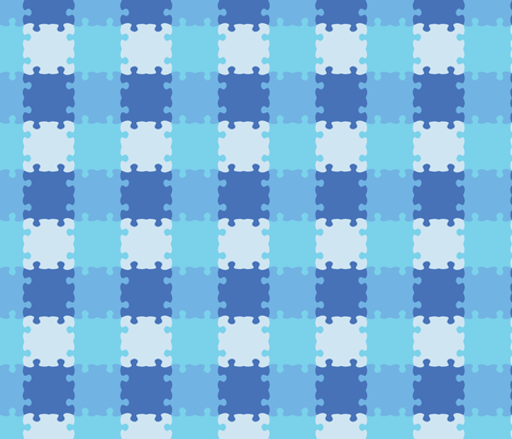 Puzzle_Motif_12 fabric by animotaxis on Spoonflower - custom fabric