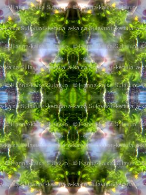 raddish leaf diamond tiles
