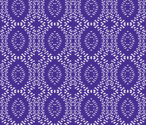 Purple to the People fabric by susaninparis on Spoonflower - custom fabric
