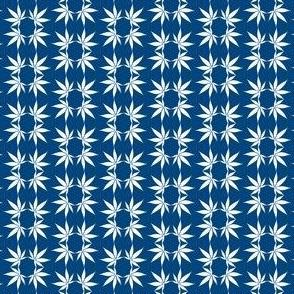 CannabisFoulard_Cobalt