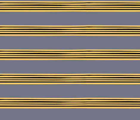 Betsy McCall Stripe fabric by pond_ripple on Spoonflower - custom fabric