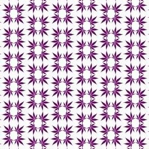 CannabisFoulard_Indigo