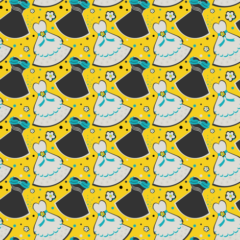 Ask Me Out fabric by eppiepeppercorn on Spoonflower - custom fabric