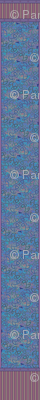 © 2011 Shower Curtain - Bird Motif - Berry Blue