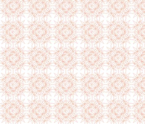 LeafSquare_BurntSienna_wbg fabric by kstarbuck on Spoonflower - custom fabric