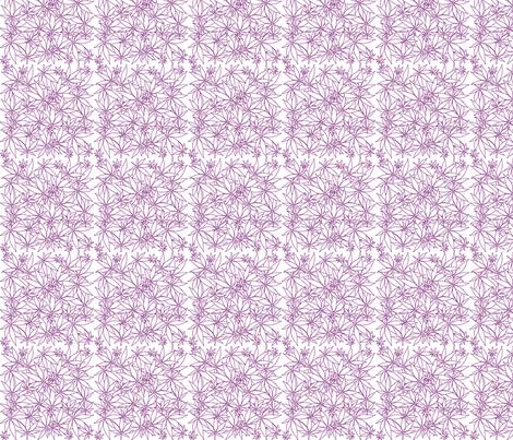 ScatteredLeaves_Indigo_wbg fabric by kstarbuck on Spoonflower - custom fabric
