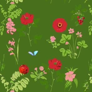 garden - deep green