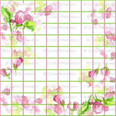 Apple Blossom Plaid