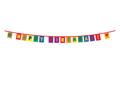 Happy Birthday! Rainbow Bunting