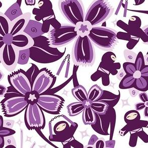Super Purple Ninja Warriors!