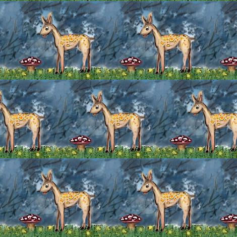 oh deer fabric by vinkeli on Spoonflower - custom fabric