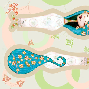 The Blue Fairy - cuddle doll-ed