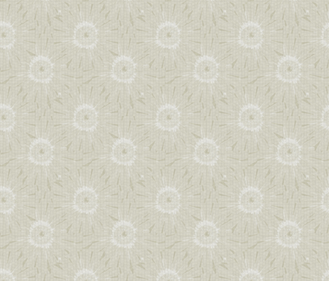 ©2011 Tiled Daisies -Soft Sand fabric by glimmericks on Spoonflower - custom fabric