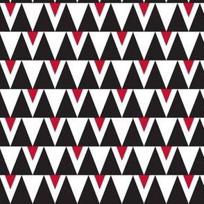Bloody Sharks Teeth Triangles