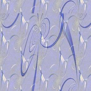 Blue-violet Bent Curves