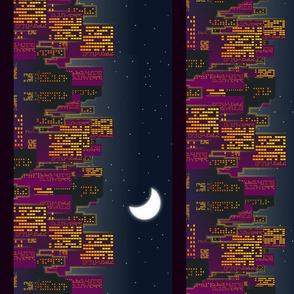 Grande ville de nuit