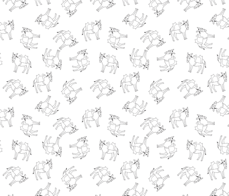 donkeytopsy fabric by corinnevail on Spoonflower - custom fabric