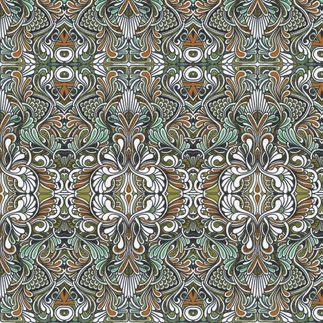 Smaller koi pond fabric by edsel2084 on Spoonflower - custom fabric