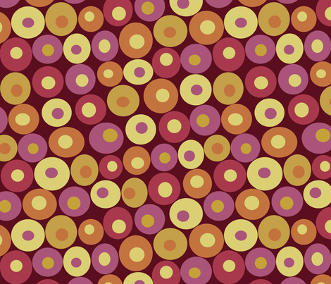 dotsy berry fabric by littlerhodydesign on Spoonflower - custom fabric