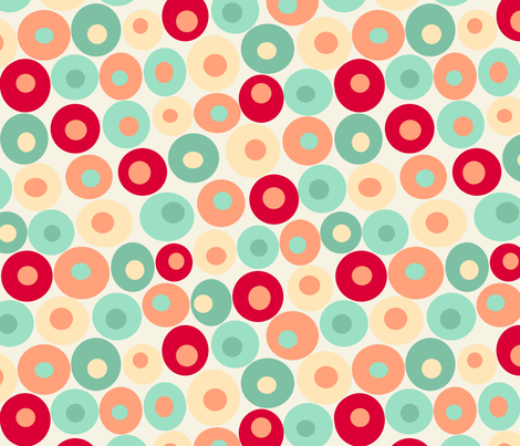 dotsy caliope fabric by littlerhodydesign on Spoonflower - custom fabric