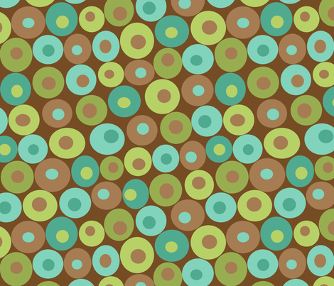 dotsy grasshopper fabric by littlerhodydesign on Spoonflower - custom fabric