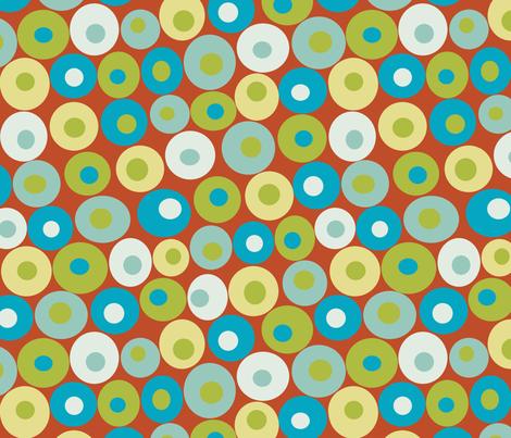 dotsy harvest fabric by littlerhodydesign on Spoonflower - custom fabric