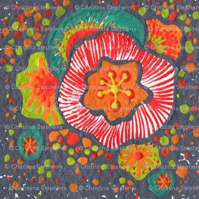 melted floral bliss ~ I