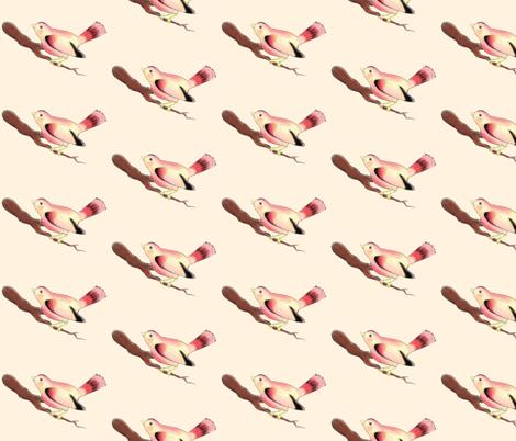 The Pretty Bird fabric by beesocks on Spoonflower - custom fabric