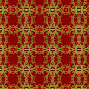Royalty Red Fabric by Cindy Wilson