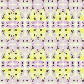 seedsandbeads big yellow and lilac