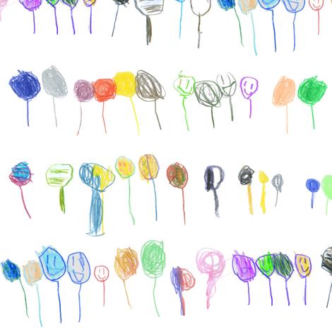Balloons fabric by little-mac on Spoonflower - custom fabric