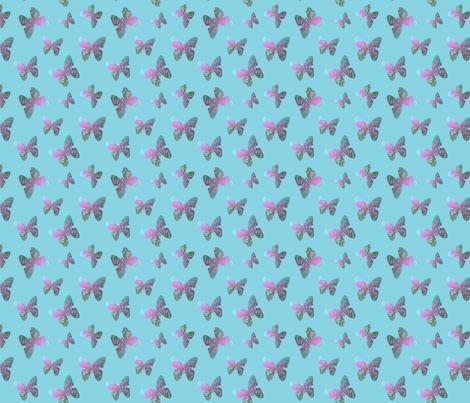 Flutter bye 3 by Su_G fabric by su_g on Spoonflower - custom fabric