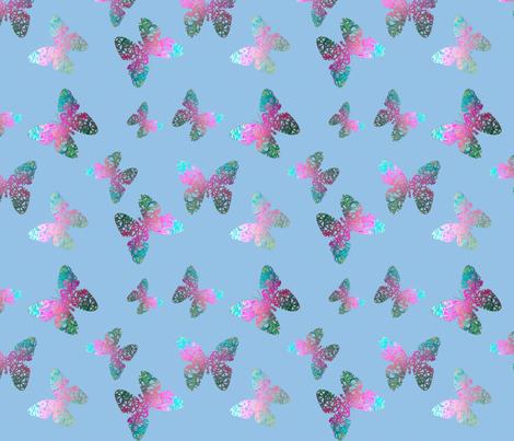 Flutter bye 4 by Su_G fabric by su_g on Spoonflower - custom fabric