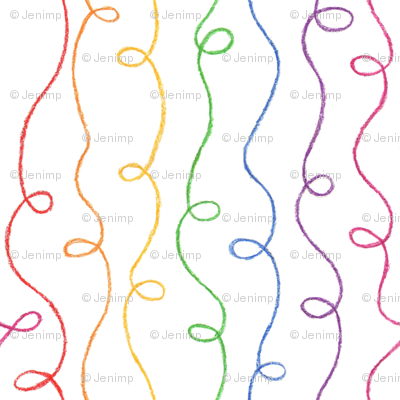 Rainbow Doodles