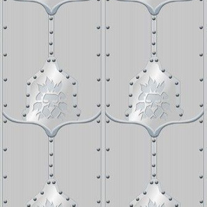 ©2011 Chain Mail and Armor Shower Curtain
