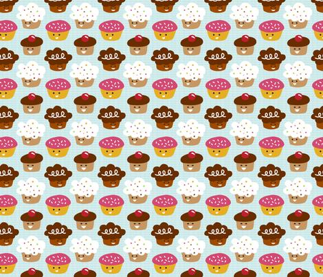 Cuppycakes! fabric by m0dm0m on Spoonflower - custom fabric