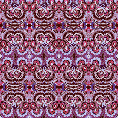 Colonial Squirm fabric by edsel2084 on Spoonflower - custom fabric