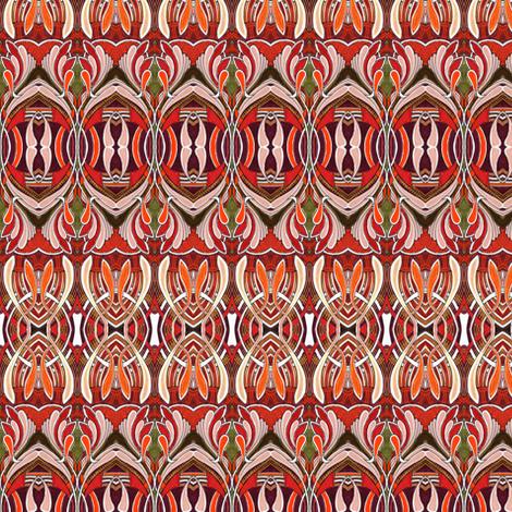 Silly Cilia  fabric by edsel2084 on Spoonflower - custom fabric