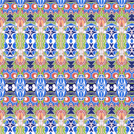 Dancing at the Speakeasy fabric by edsel2084 on Spoonflower - custom fabric