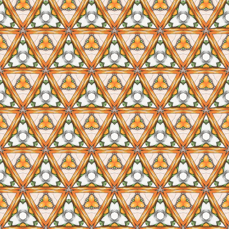 Poliviel's Triangles fabric by siya on Spoonflower - custom fabric