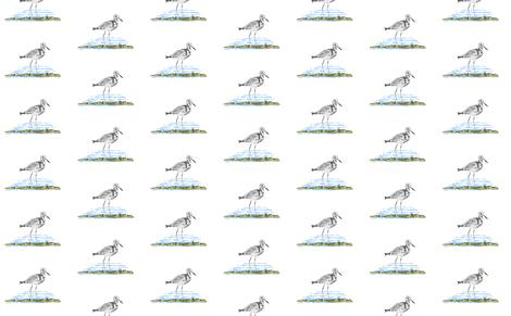 Sea Birds fabric by sewbiznes on Spoonflower - custom fabric