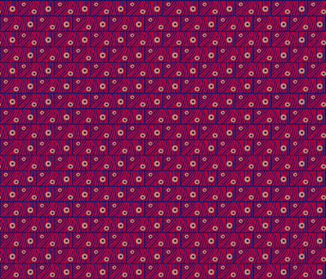 Msburgh (smaller scale): Tiger moth eyes A by Su_G fabric by su_g on Spoonflower - custom fabric