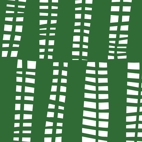 nets- green fabric by lola_designs on Spoonflower - custom fabric