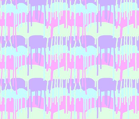 Melting Ice Cream fabric by jhacarlson on Spoonflower - custom fabric