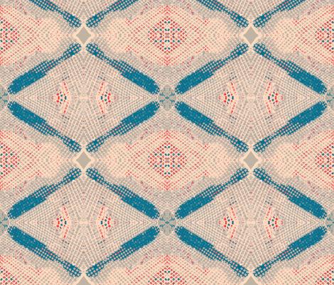 Mosaic Meltdown fabric by susaninparis on Spoonflower - custom fabric