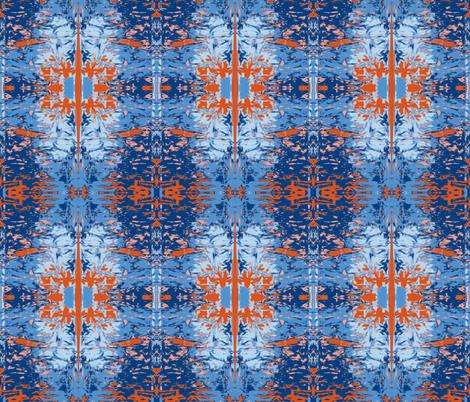 Venus and Mars fabric by susaninparis on Spoonflower - custom fabric